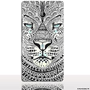 Coque téléphone portable Nokia Lumia 930 Tigre Azteque - Boutique coque pour Telephone mobile Nokia - Kinghousse