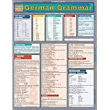 German Grammar Laminate Reference Chart (Quickstudy: Academic)
