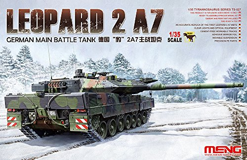 Meng TS-027 - Modellbausatz German Main Battle Tank Leopard 2 A7