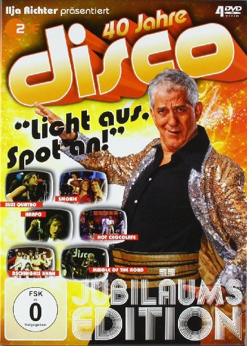 Various Artists - 40 Jahre Disco: Jubläums Edition [4 DVDs]