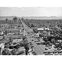 Vintage Images – 1960s Downtown Phoenix Arizona Usa Artistica di Stampa (27,94 x 35,56 cm)