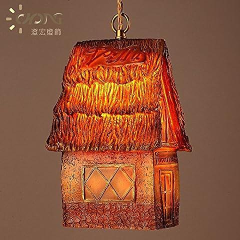 XX&GXM Villaggio americano creative tree house design lampadario in resina