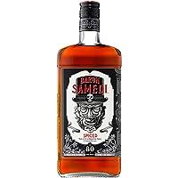 Baron Samedi - Spiced Rum - Rhum Haitiano Realizzato con Spezie Naturali, 40% Vol, Bottiglia in Vetro da 700ml