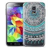 Samsung Galaxy S5 Mini Hülle, Conie Silikonhülle [Mandala Series], Ultradünn hüllen Cover Schutz Tasche Premium HD Druck, Case, Samsung Galaxy S5 Mini (4,5 Zoll (11,4 cm)