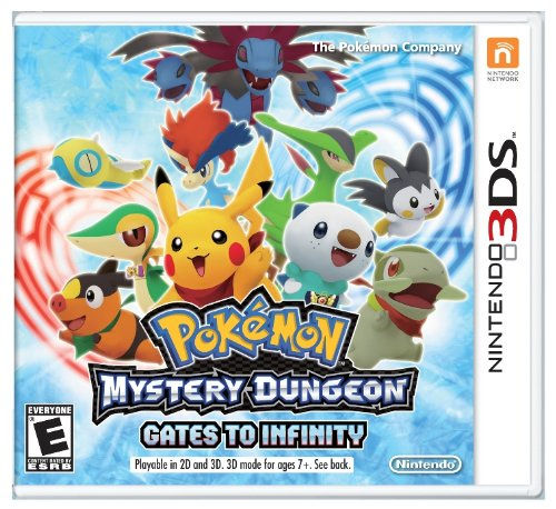 Pokemon Mystery Dungeon: Gates to Infinity - Mystery Dungeon Pokemon