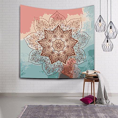Gedruckte Wandteppiche Dekorative böhmische Stil Wandteppich Tapisserie , 200x150