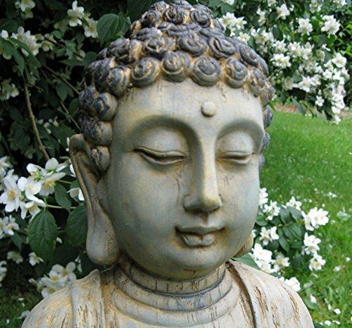 Figura de Buda, escultura de Buda, Jardín Buda meditando, Feng Shui 4