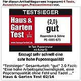 Rosenstein & Söhne Profi-Popcorn-Maschine - 6