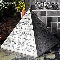 Stile piramide Queen size creative elegante casa posacenere decorativo con coperchio ornamento doni,Regina