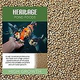 Heritage Premium Granulés de croissance pour carpe koi en bassin Haute teneur en protéines