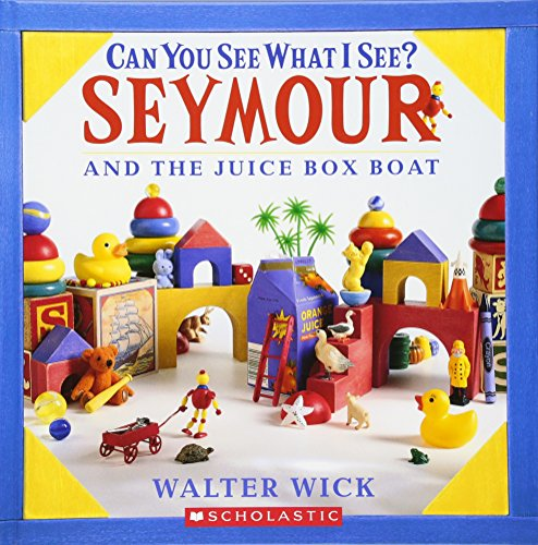 Can You See What I See? Seymour and the Juice Box Boat: Picture Puzzles to Search and Solve - Seymour Box