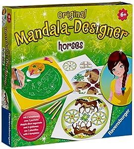 Ravensburger 29742 Horses Mandala-Designer - Juego para diseñar Mandalas con Caballos