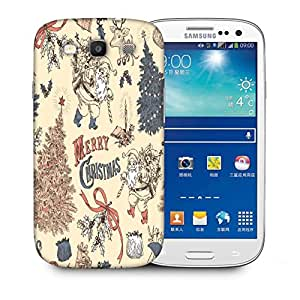 Snoogg Merry Christmas Printed Protective Phone Back Case Cover For Samsung S3 / S III