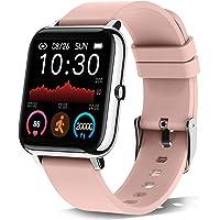 Smartwatch, 1.4 Zoll Touch-Farbdisplay Smart Watch mit Pulsmesser Schlafmonitor, Fitness Tracker mit Schrittzähler für…