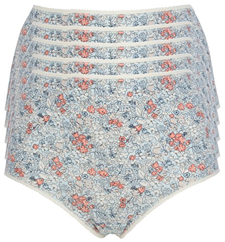 Ex Store Multipack Cotton Full Briefs Knickers