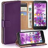 MoEx Huawei Y625   Hülle Lila mit Karten-Fach [OneFlow 360° Book Klapp-Hülle] Handytasche Kunst-Leder Handyhülle für Huawei Y625 Case Flip Cover Schutzhülle Tasche