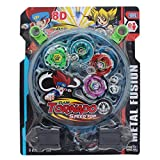 Tootpado 4 Beyblade Set With Ripchord La...