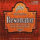GHS SF1650 Jeu de cordes pour Guitare Semi Flat Phosphor Resonator 16-56
