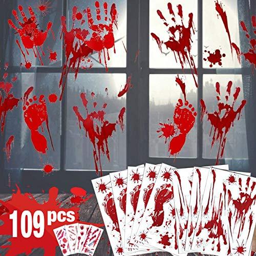 - Halloween Fenster Sticker