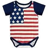 قميص 4TH of July للأطفال الصغار بنين بنات قميص عيد الاستقلال السعيد ، مقلم عارضة الملابس للأطفال الصغار