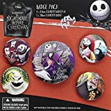 The Nightmare Before Christmas Characters Button-Set Mehrfarbig