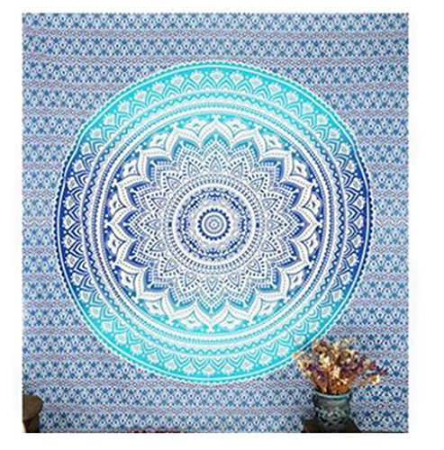 Weimay Grandes esteras de Playa rectangulares Indian Boho Tapices Anti