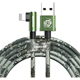 Baseus Camouflage USB Cable for iPhone, 1.5A, 2 Meters - Green