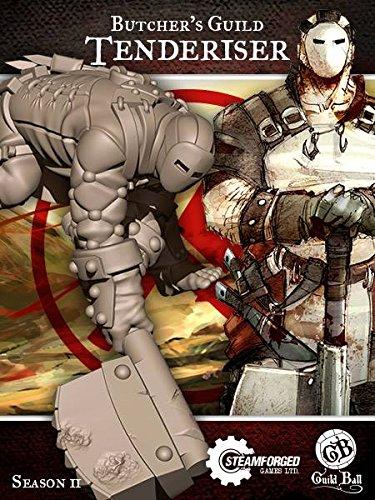 steamforged Spiele Guild Ball Butcher Fleischhammer Kit