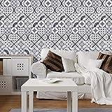 JY ART Fliesenaufkleber für Küche und Bad | Mosaik-Stil Designs Wandfliesen Aufkleber für Fliesen | Fliesen-Aufkleber Folie | Deko-Fliesenfolie (PG109), 20cm*5m