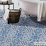 JY ART Fliesen-Aufkleber Dekorative Küchen-Fliesen überkleben - Dekorative Bad-Gestaltung Tile Style Decals DB012 Bodenaufkleber, DB100, 120*60CM