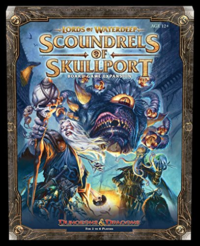 Lords of Waterdeep Expansion: Scoundrels of Skullport (D&d Boxed Game)