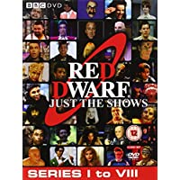 Red Dwarf: Just the Shows - Complete Series 1-8 Box Set