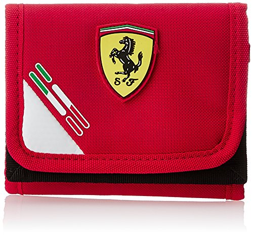 46bac1cfb9 Puma Pck 6 Ferrari Wallet, Portamonete Unisex-Adulto, Rosso (Rouge (01