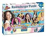 Ravensburger Italy 12835 - Puzzle per Bambini Soy Luna, 200 Pezzi Panorama