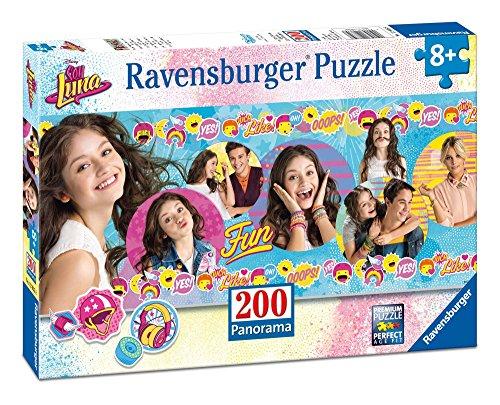 Ravensburger - 12835 - Puzzle Luna, Matteo, Ambar et Simon 200 pièces