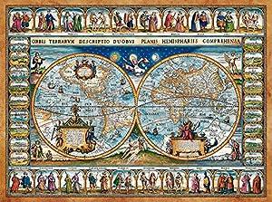 Castorland Map of The World, 1639 2000pieza(s) - Rompecabezas (1639, Jigsaw Puzzle, Mapas, Niños y Adultos, Niño/niña, 9 año(s), 920 mm)