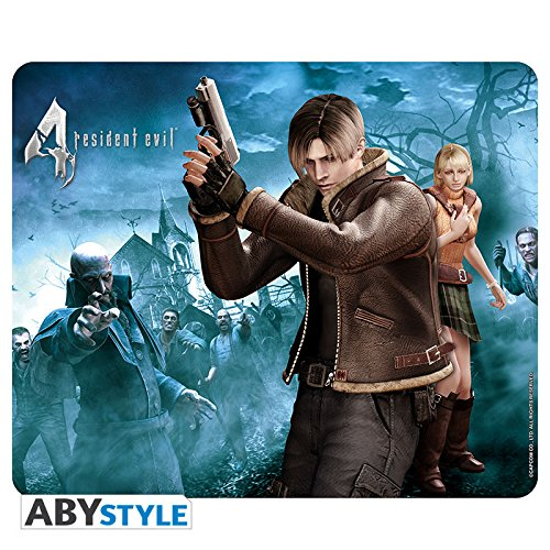 ABYstyle - RESIDENT EVIL - Mauspad - Leon & Ashley