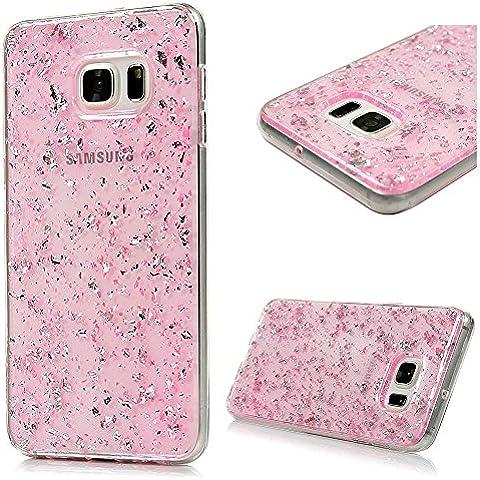 Samsung Galaxy S6 edge plus Carcasa TPU Suave Trasparente Funda, YOKIRIN pintado Cover Case Moviles Libres Pintado Protective Protectora -