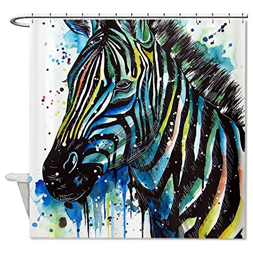 whiangfsoo-zebra-aquarell-paintingt-home-decro-polyester-bad-duschvorhang-9-72x72180x180cm