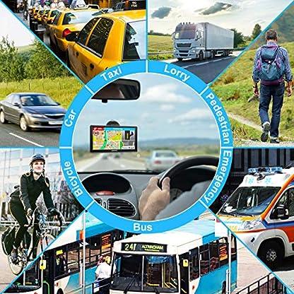 Jimwey-GPS-Navi-Navigation-fr-Auto-LKW-PKW-7-Zoll-16GB-Lebenslang-Kostenloses-Kartenupdate-Navigationsgert-mit-POI-Blitzerwarnung-Sprachfhrung-Fahrspurassistent-2019-Europa-UK-48-Karten