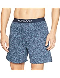 Fruit of the Loom Men's Printed Cotton Boxers