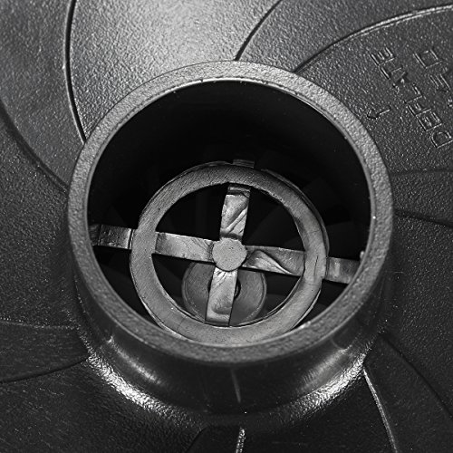 GOCHANGE Elektrische Luftpumpe,Elektropumpe inkl. 3 Aufsätze für Luftmatratzen, Schlauchboote, Gästebetten, aufblasbare Schwimmtiere oder Camping - Automatisches und schnelles Auf- und Abpumpen DC12V/AC230V,12*10*8cm -