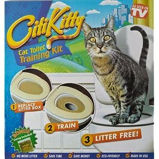 Cat Toilet Potty Training Kit 610o7yoxEAL