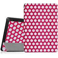 Fintie ekk0029de 7Handy Bookstyle rot, weiß Tasche für Tablet