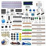 Sanzo® Arduino Starter Kit Capacitors Maker 1602LCD Starter Kit for Arduino Servo Motor LED Resistor Relay Encoder