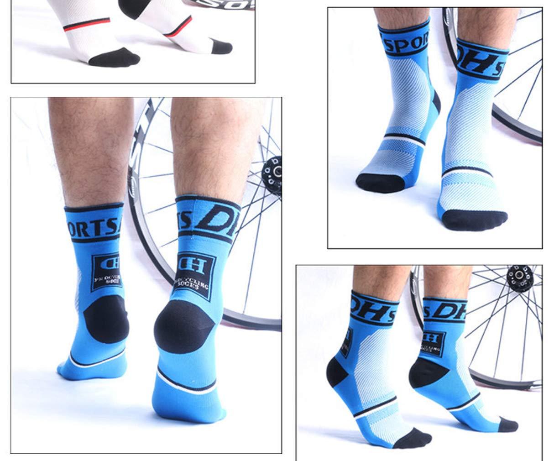 Egurs- bundle 2 paia di calzini da ciclismo professionali