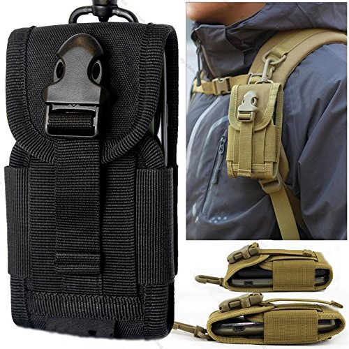 Chinatera Mens Molle Outdoor Hunt Multifunctional Accessories Bag Sundries Bags Key Cell Phone Waist Bag Pouch Case Test
