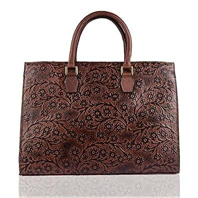 Hidesign Kester Women's Tote Bag Large (Brown)