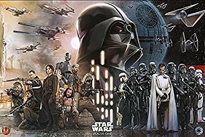 Poster Rogue One: A Star Wars Story - Rebels vs Empire (91,5cm x 61cm)