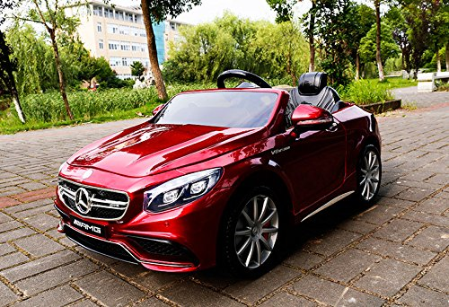 mercedes benz s63 amg cabriolet ride on 12v elektro. Black Bedroom Furniture Sets. Home Design Ideas